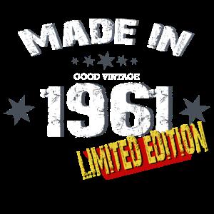 Geburtsjahr 1961 Limited edition