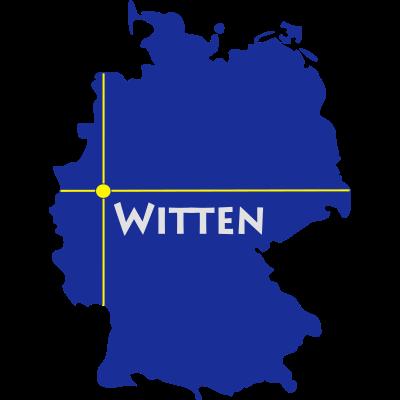 witten - Witten liegt im Ennepe-Ruhr-Kreis in NRW. - Witten,WIT,Stockum,Rüdinghausen,Ruhr,NRW,Kemnader See,Heven,Herbede,EN,Bommern,Annen
