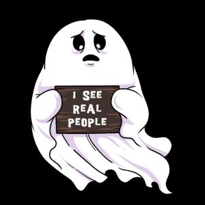 Lustiges Spuk Spuken Geist Halloween Gespenst