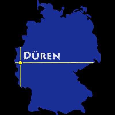 düren - Düren in Nordrhein-Westfalen. - Rhein,NRW,Maas,Lendersdorf,Gürzenich,Eifel,Düren,Birkesdorf,Arnoldsweiler,Aachen