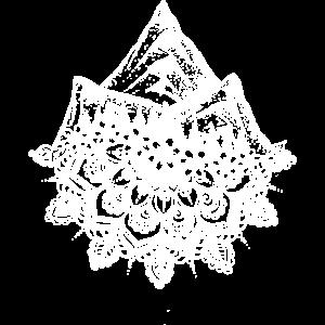 Mandala und Berge