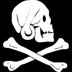 Totenschädel Schädel Gekreuzte Knochen