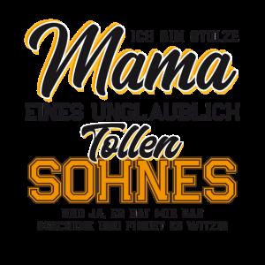 Geschenk für Mutter Stolze Mama von sohn