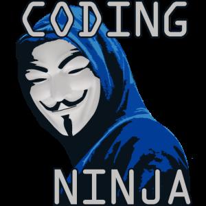 Coding Ninja, Geschenk, Programmierer