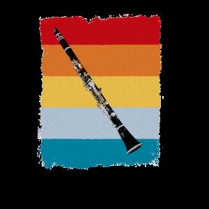 Retro klarinette