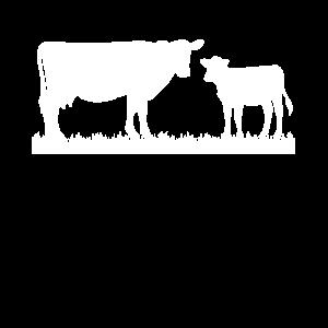 Kuh Kalb Bauern Geschenk