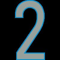 Nummern, Zahlen, 2, Pelibol ™