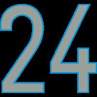 Nummern, Zahlen, 24, Pelibol ™