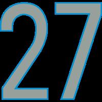 Nummern, Zahlen, 27, Pelibol ™