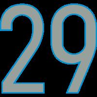 Nummern, Zahlen, 29, Pelibol ™