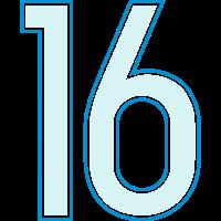 16, Sechzehn, Sixteen, Seize, Dieciséis, Pelibol ™