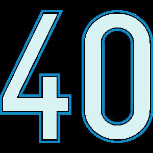 40, Vierzig, Forty, Quarante, Cuarenta, Pelibol ™