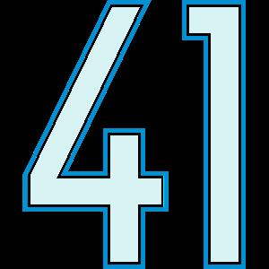 41, Einundvierzig, Forty One, Pelibol ™