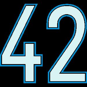 42, Zweiundvierzig, Forty Two, Pelibol ™