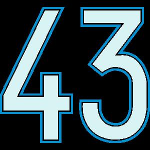 43, Dreiundvierzig, Forty Three, Pelibol ™