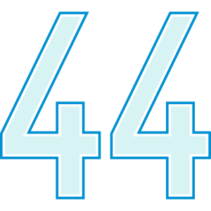 44, Vierundvierzig, Forty Four, Pelibol ™