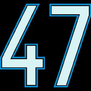 47, Siebenundvierzig, Forty Seven, Pelibol ™