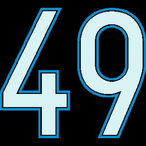 49, Neunundvierzig, Forty Nine, Pelibol ™