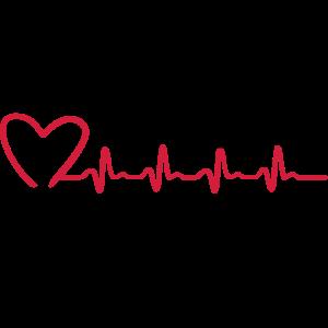 Turnen EKG, Turnerin und Herzschlag