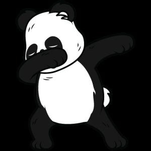 Panda Dabbing Tanzendes Tier