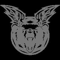 baer fluegel wild wildes tier logo 702