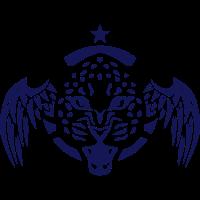 leopard fluegel logo wilden wildes tier