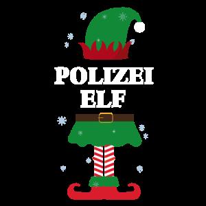Polizei Elf Weihnachten