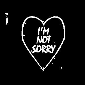 Es tut mir nicht leid