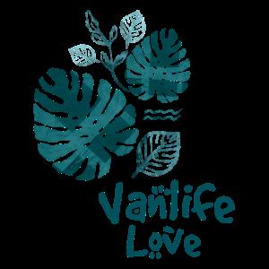 Vanlife Love Dschungelprint