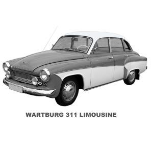 Wartburg 311 Limo DDR Eisenach AWE