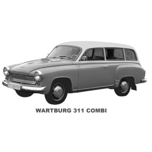 Wartburg 311 Combi DDR Eisenach AWE