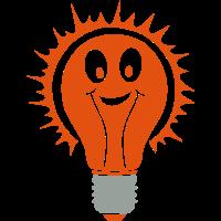 lampe smiley birne