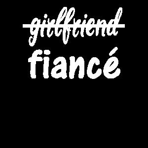 Verlobte Girlfriend Fiance Verlobung Geschenk