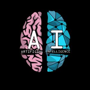KI Nerd Künstliche Intelligenz Gehirn Geschenke
