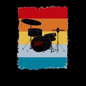 Retro Drum Schlagzeug