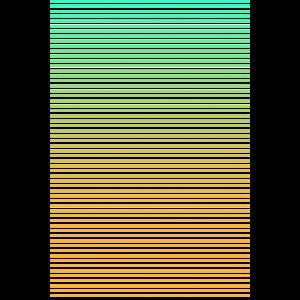 Farbverlaufsstreifen