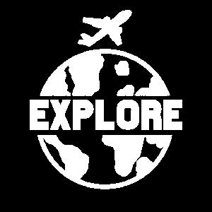 Reisen Erkunden Sie die Weltreise