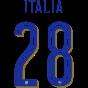 28 Italia Rückennummer, Pelibol ™