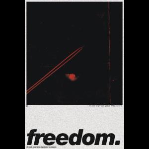 Freiheits-Plakat