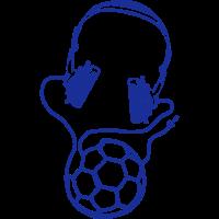 handball headset kopfhoerer draht ballon