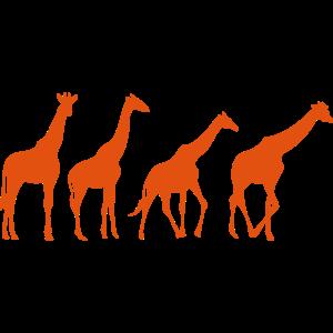 animierte giraffe