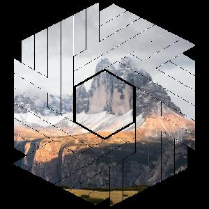 Drei Zinnen Dolomiten Sechseck