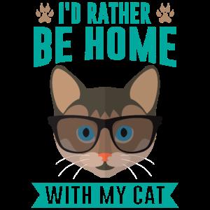 Katzen Zuhause
