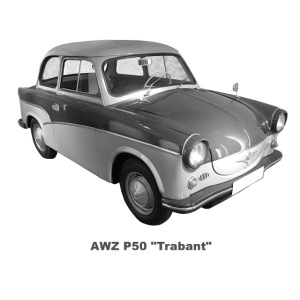 AWZ Trabant P50 DDR Zwickau