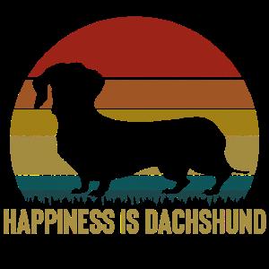 Glück ist Dackel