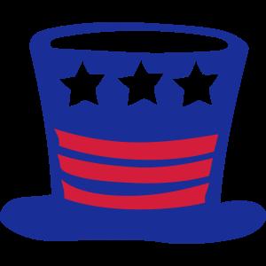 amerikanischer hut