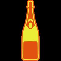 champagner flasche 2