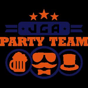 JGA Party Team (Schriftzug)