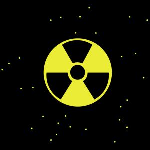 atomar atom symbol zeichen radioaktiv atombombe fa