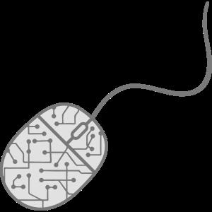 mikrochip daten elektronisch cool design maus comp